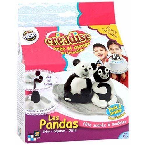 MGM - 001417 - Pâte À Modeler - Creadise - Boîte Panda - Pâte à modeler pour enfant