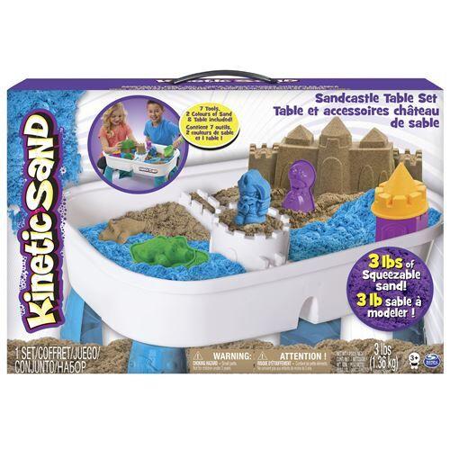 Kinetic Table D'activités Kinetic Sand - Pâte à modeler pour enfant