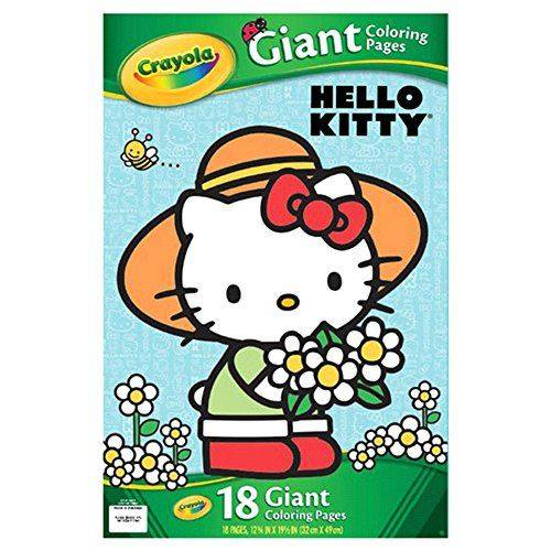 Crayola Hello Kitty Giant Coloring Pages - Kit Créatif