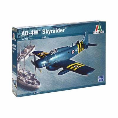 Italeri Maquette avion militaire : AD-4W Skyraider Italeri - Maquette