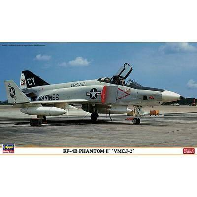 Hasegawa - Maquette avion: RF-4B VMCJ-2 - Maquette