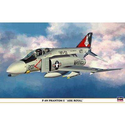 Hasegawa - Maquette avion: F-4N Phantom II Ark Royal - Maquette