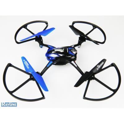 rayline drone radiocommandé r8 wifi 2,4ghz - hélicoptère radio commandé