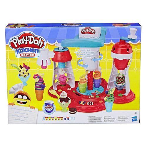 PLAY-DOH Pâte à modeler Play-Doh Le Glacier Enchanté - Pâte à modeler