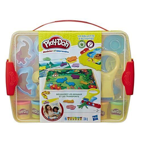 PLAY-DOH Pâte à modeler Play-Doh La Malette d'activités - Pâte à modeler