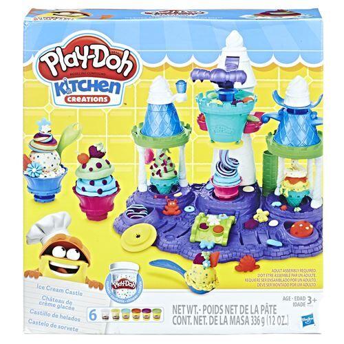 PLAD Pâte à modeler Play Doh Le Royaume des glaces - Kit loisir créatif