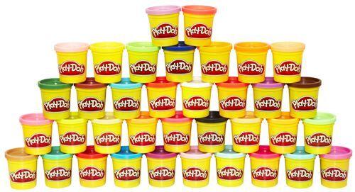 PLAD Pack de 36 pots de pâte à modeler Play Doh - Pâte à modeler