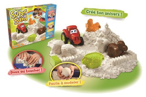 GOLI Pâte à modeler Super Sand Farm Goliath - Pâte à modeler