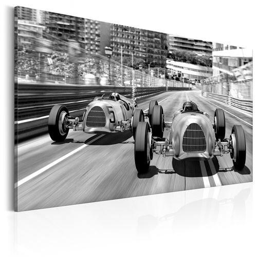 Artgeist Tableau - Anciennes voitures de course - Artgeist - 120x80 - Décoration murale