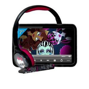 Ingo - MHU014D - Pack Tablette Tactile avec Stylet, Casque et Protection Silicone - Monster High - 7 pouces - Tablettes éducatives