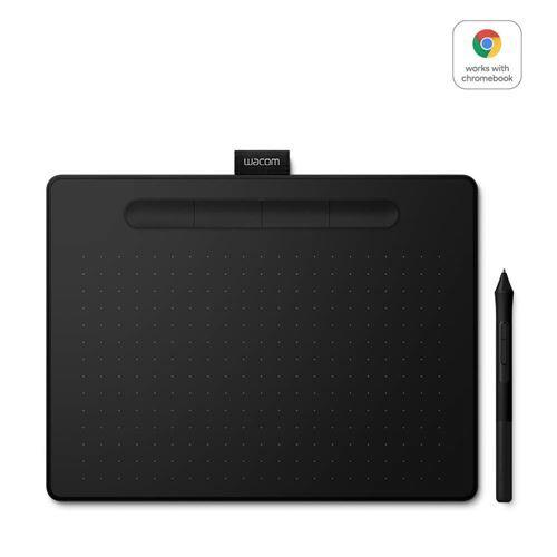 wacom tablette wacom intuos noir avec stylet small - tablette graphique avec stylet