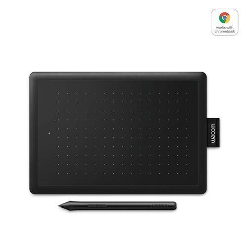 wcom tablette graphique wacom one small 2017 noir et rouge avec stylet - tablette graphique avec écran