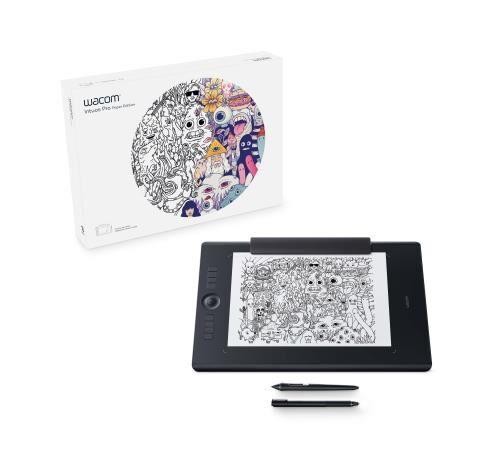 wcom tablette graphique wacom intuos pro edition papier taille l - tablette graphique avec écran