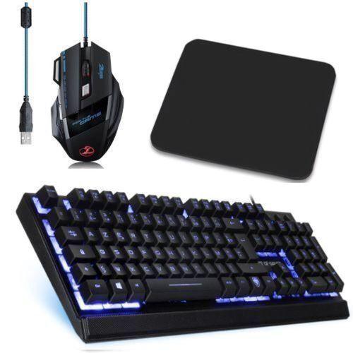 Spirit Of Gamer PACK GAMER pour PC - Clavier USB rétroéclairée Anti-Ghosting + Souris USB rétroéclairée + Tapis Souris - Autres