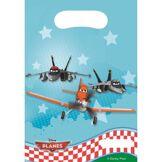 Ludendo Sachets Anniversaire Planes x6 Disney - Article de fête