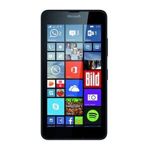 Microsoft Lumia 640 Smartphone débloqué 3G (Ecran : 5 pouces - 8 Go - Double SIM - Windows Phone 8.1) Noir (import europe) - Smartphone