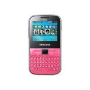 Samsung Ch@t 322 - Téléphone mobile - double SIM - microSDHC slot - GSM - 220 x 176 pixels - TFT - 1,3 MP - Smartphone