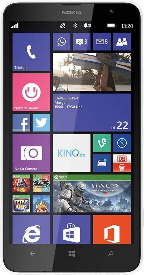 Nokia Lumia 1320 Smartphone (15,2 cm (6 Pouces), écran LCD, Qualcomm Snapdragon S4, 1,7 GHz, RAM 1 Go, Appareil Photo 5 Mpx, Bluetooth 4.0, USB 2.0) - Smartphone