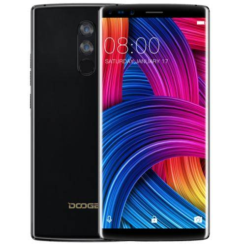 DOOGEE MIX2 Smartphone 4G Débloqué 6.0 Pouces 6Go RAM + 64Go ROM BLEU - Smartphone