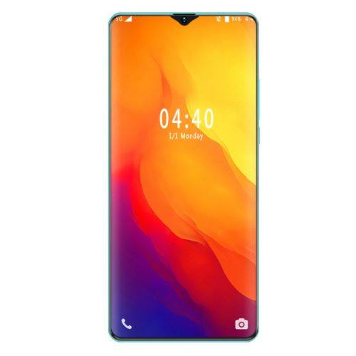 Non communiqué Smartphone S21plus Pas Cher Android 3G écran 6.7 pouces Double carte SM Déverrouillage d'empreintes digitales vert - Smartphone