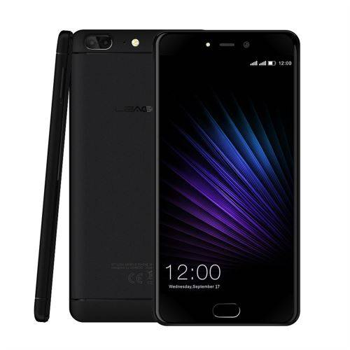 2019 Leagoo T5 Mtk6750T Octa + 4 Go de Base 64Go + 13Mp 13Mp + 5Mp 4G Intelligente Cell Phone 5.5 Pouces aloha679 - Smartphone