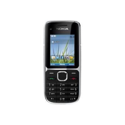 Nokia C2-01 - noir - 3G GSM - téléphone mobile - Smartphone