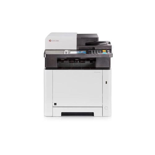 Kyocera ECOSYS M5526cdw - Imprimante multifonctions - couleur - laser - Legal (216 x 356 mm)/A4 (210 x 297 mm) (original) - A4/Legal (support) - jusqu'à 26 ppm (copie) - jusqu'à 26 ppm (impression) - 300 feuilles - 33.6 Kbits/s - USB 2.0, Gigabit