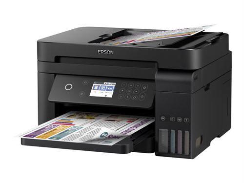 epson ecotank et-3750 jet d'encre 33 ppm 4800 x 1200 dpi a4 wifi - multifonctions (jet d'encre, 4800 x 1200 dpi, 150 feuilles, a4, impression directe, noir) - imprimante multifonctions