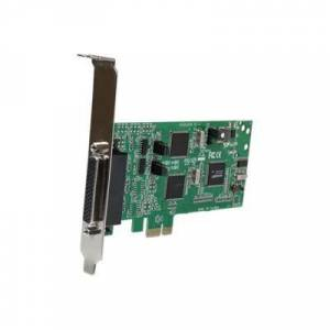 StarTech.com Carte PCI Express Série 4 ports - 2x RS232 et 2x RS422 / RS485 - adaptateur série - 4 ports - Switch réseau