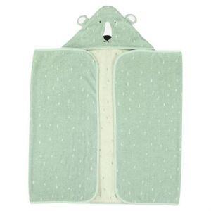 Trixie serviette de bain Mr. Polar Bear70 x 130 cm coton bio vert - Gants - Sorties de bain - Serviettes