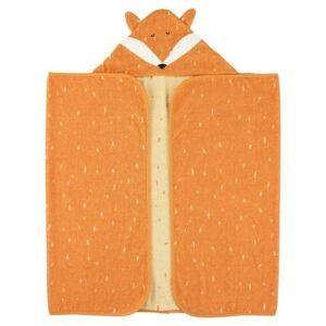 Trixie serviette de bain Mr. Fox70 x 130 cm coton bio orange - Gants - Sorties de bain - Serviettes