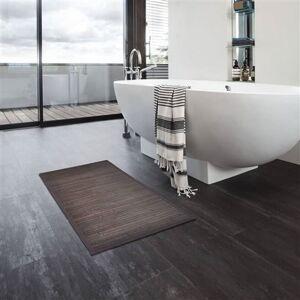 Non communiqué Tapis de bain Bambou 2 pcs 60 x 90 cm Marron foncé - Tapis de bain