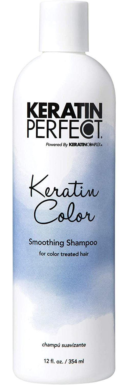 Pas de marque Keratin Perfect Color Smoothing Shampooing pour Cheveux pour Cheveux Traité/Coloré UV Protection 12 oz 355 ml 1 Unité - Bain/shampoing