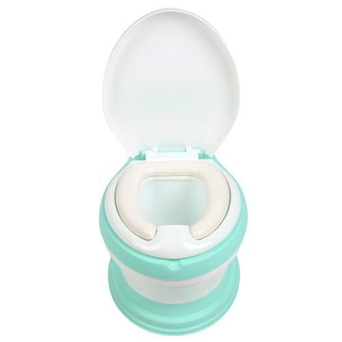 Toilette pour bébé Simulation comme siège entraîneur portable stables - Vert - Accessoires de toilette
