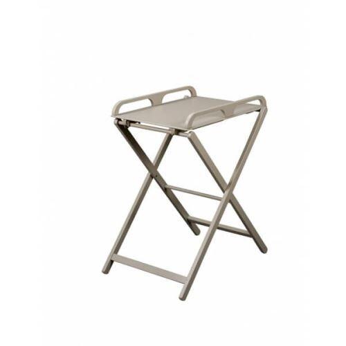 Combelle Table à langer pliante jade laqué gris clair - combelle - Matelas à langer
