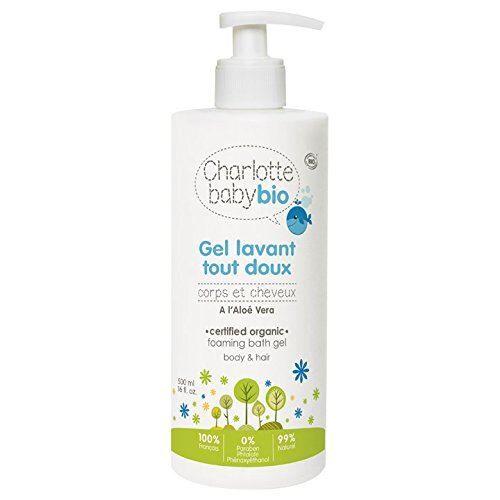 Non communiqué Charlotte Baby Bio Gel Lavant Tout Doux Corps et Cheveux - Lot de 6 - Bain/shampoing