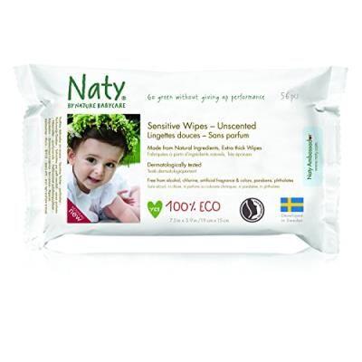 Naty by Nature BabyCare Naty 12 packs de 56 lingettes douces ecologiques sans parfum - Autres toilette et soin