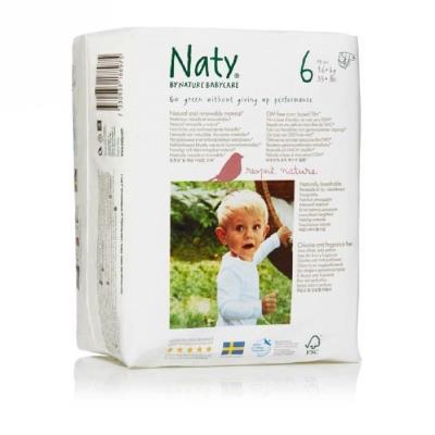 NATY Couches XL - 18 pcs - Taille 6 - Accessoires de change