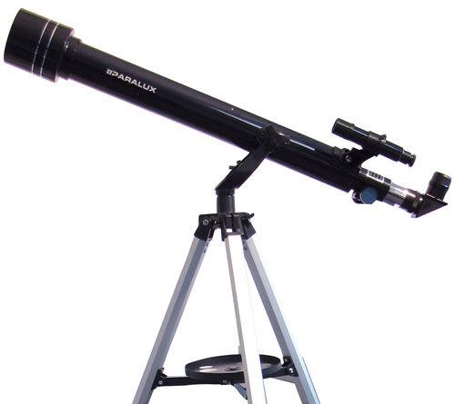 paralux télescope chasseur d'etoiles 60/700 - lunette astronomique
