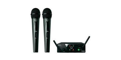 Akg Mini-micro sans fil AKG WMS 40 Mini Dual - Microphone