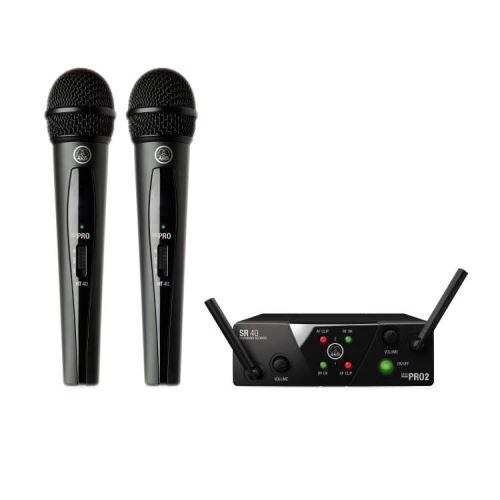 AKG WMS 40 Mini2 Dual Vocal ISM2 - 3 (864 MHz) système micro sans-fil ISM2 ISM3 - Microphone