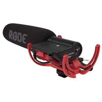 rode videomic rycote microphone directionnel à condensateur pour camera - microphone