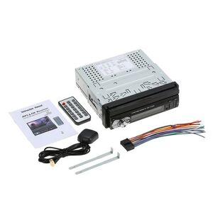 KKmoon Universel 7 Haute Qualité Autoradio Voiture BT Stéréo de Radio MP5 Player GPS Navigation Escamotable Player avec FM USB SD - GPS Auto