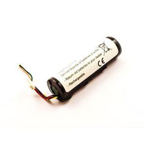 Batterie compatible Garmin DC20, DC30, DC40, Li-ion, 3,7V, 2600mAh, 9,6Wh - Accessoire pour GPS