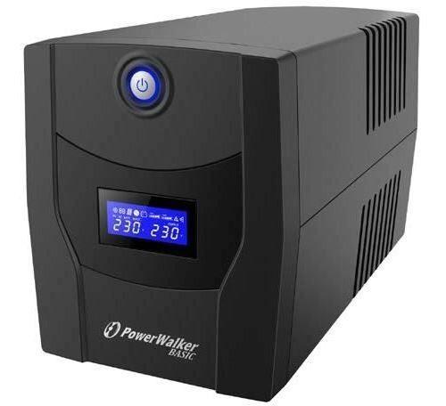 PowerWalker VI 600 STL alimentation d'énergie non interruptible Interactivité de ligne 600 VA 360 W 2 sortie(s) CA - Accessoires Autoradio