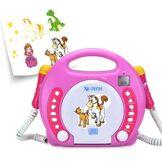 X4-tech bobby joey cd sd usb pink (701354) - Jouet multimédia