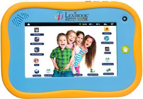 lexi tablette tactile enfant lexibook tablet junior mfc270fr - tablette éducative