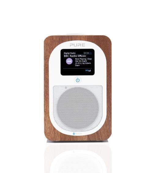 Pure Radio Pure Evoke H3 Noyer - Radio