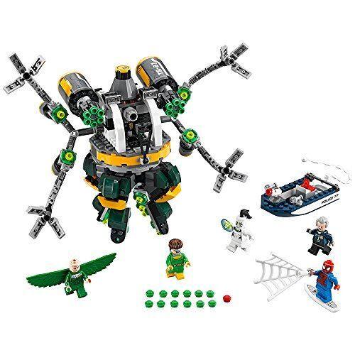 LEGO Marvel Super Heroes 76059 - Spider-Man : le piège à tentacules de Doc Ock - Lego
