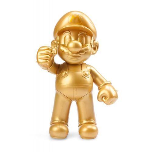 Taito Super Mario Bros - Super Mario 30th Anniversary Gold Action Figure 30cm - Autres figurines et répliques